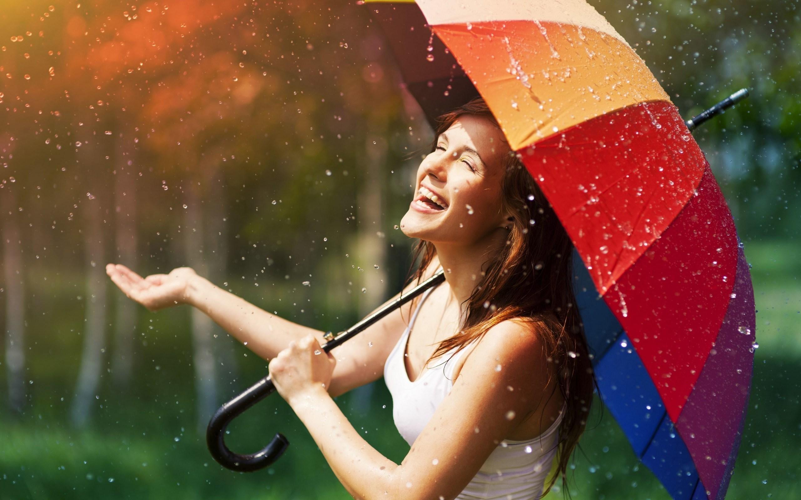 mood-girl-brunette-smile-happy-umbrella-rain-wallpaper-2560x1600